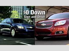 $69 Cruze / $99 Malibu at McCluskey Chevrolet in the Kings