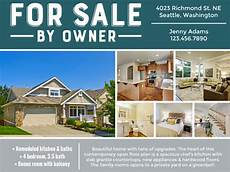 for sale by owner flyer smilebox