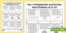 multiplication worksheets year 4 australia 4708 year 4 multiplication and division word problems worksheet