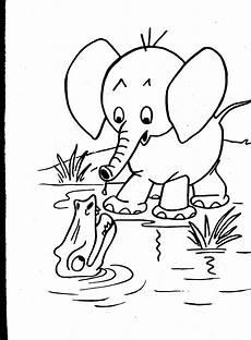 animals coloring pages 16877 coloriage 201 l 233 phant et crocodile 224 imprimer sur coloriages info