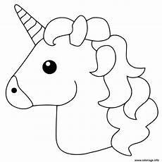Malvorlagen Unicorn Cake Coloriage Unicorn Emoji Dessin Imprimer For Grandkids