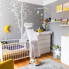 wandgestaltung babyzimmer neutral
