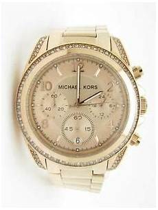 5c26y3 michael kors mk 5263 blair gold chronograph