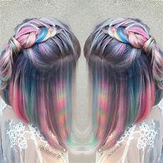 Hair Colors And Dyes hair color trends tye dye hair color trend vogue