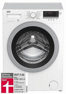 stiftung warentest waschmaschinen beko wyaw 714831 ls waschmaschine gut im test bei