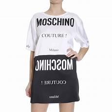 moschino couture t shirt in black lyst