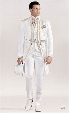 Wedding White Suits For Groom white wedding suits for groom with gold tone embroidery