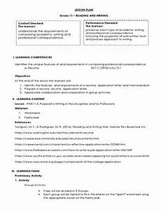 lesson plan reading and writing skills r 233 sum 233 lesson