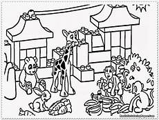Easy Zoo Coloring Pages Zookeeper Coloring Page At Getcolorings Free