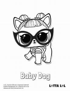 Malvorlagen Lol Baby Baby Hund Malvorlagen Lotta Lol Lol Series 3