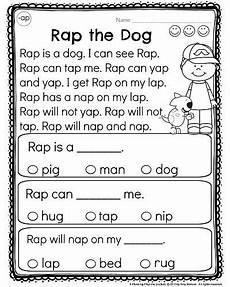 kindergarten reading comprehension passages reading