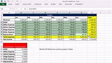 highline excel 2013 class video 05 cell references relative absolute mixed 8 exles