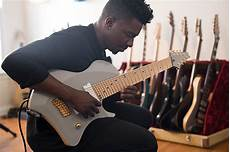 Animals As Leaders Tosin Abasi Shows His New Ibanez