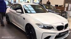 first bmw m2 in alpine white hits dealership in luxembourg youtube