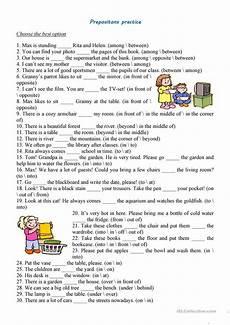 prepositions practice worksheet free esl printable worksheets made by teachers school