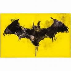 batman logo watercolor canvas wall decor hobby lobby 999375