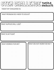 science worksheet maker 12306 stem worksheets free printable pack stem classes stem science stem challenges