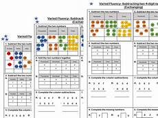 subtraction exchange worksheets 10070 white maths year 4 subtraction of two 4 digit numbers exchanging teaching resources