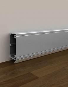 goulotte electrique design goulottes 93 en u23x couleur aluminium