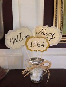 table center pieces for parent s 50th anniversary with