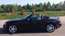 sold 2004 mazda miata mx 5 convertible black cherry auto 1