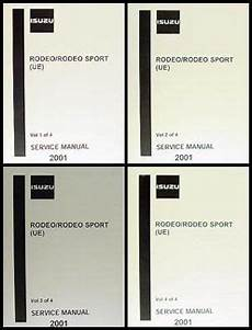 best auto repair manual 2001 isuzu rodeo sport electronic throttle control 2001 isuzu rodeo rodeo sport repair shop manual 4 volume set