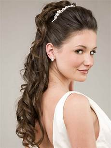 bridal hairstyles for long hair half up have your dream wedding