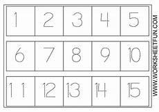 number worksheets worksheets and preschool on pinterest