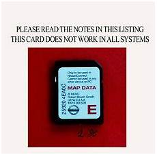 car gps software map sd cards for nissan qashqai for