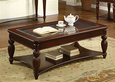 furniture of america willmington dark cherry coffee table