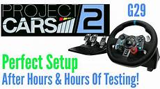 setup project cars 2 project cars 2 logitech g29 settings that work setup