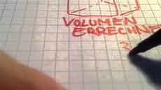 volumen eines w 252 rfels berechnen 220 bung mathematik