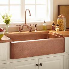 copper kitchen sink faucets angled kitchen sink signature hardware