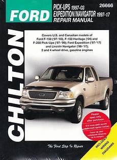 manual repair autos 2003 ford f250 auto manual 1997 2003 ford f150 1997 1999 f250 chilton repair service shop manual 2096 ebay
