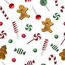 seamless merry christmas pattern premium vector