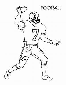 football player coloring pages learny
