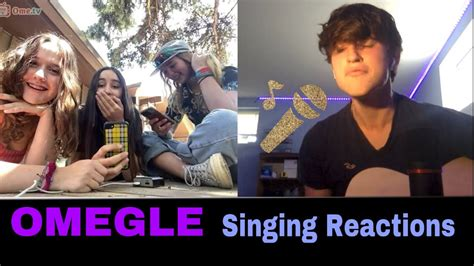 girl with great voice reacts to my singing