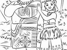 vaiana malvorlagen wallpaper le coloriage de vaiana ausmalbilder vaiana tui und sina