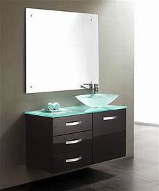 Bathroom Vanity Tops Modern by Tempered Glass Vanity Tops For A Striking Modern Bathroom