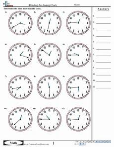 time reading worksheets 3166 common math 3rd grade collection lesson planet