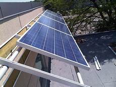 Befestigung Sonnensegel Hauswand - wall kinetic solar racking and mounting