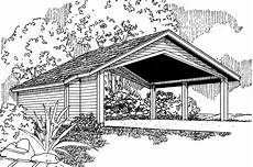 house plans with carports traditional house plans carport w storage 20 048