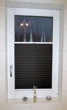 Sensuna 174 Badezimmer Sichtschutz Plissee Am Fenster