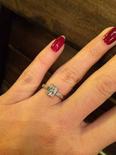 please show me your 1 00 2 00 carat emerald radiant cut center stone weddingbee
