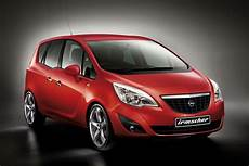 irmscher facelifts the new opel meriva mpv carscoops