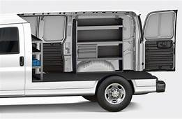 Chevrolet Express 2500 Interior Dimensions