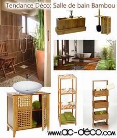 accessoire decoration salle de bain 106121 salle de bain en bambou meubles et accessoires en bambou pas chers chez www ac deco pour