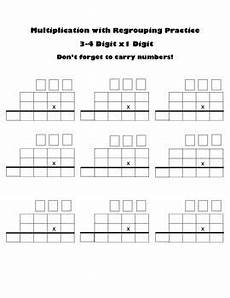 blank fraction worksheets 3866 multiply up to 4 digits x 1 digit blank worksheet multiplication worksheets math math help
