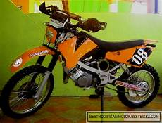 Modifikasi Motor Satria 2 Tak by Modifikasi Suzuki Satria 2 Tak Trail Gambar Modifikasi