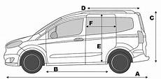 ford transit abmessungen ford transit courier specifications transit center